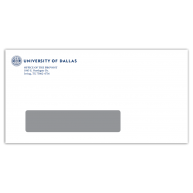 UD Window Envelope - Provost Office500/unit