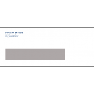 General Window Envelope address only500/unit